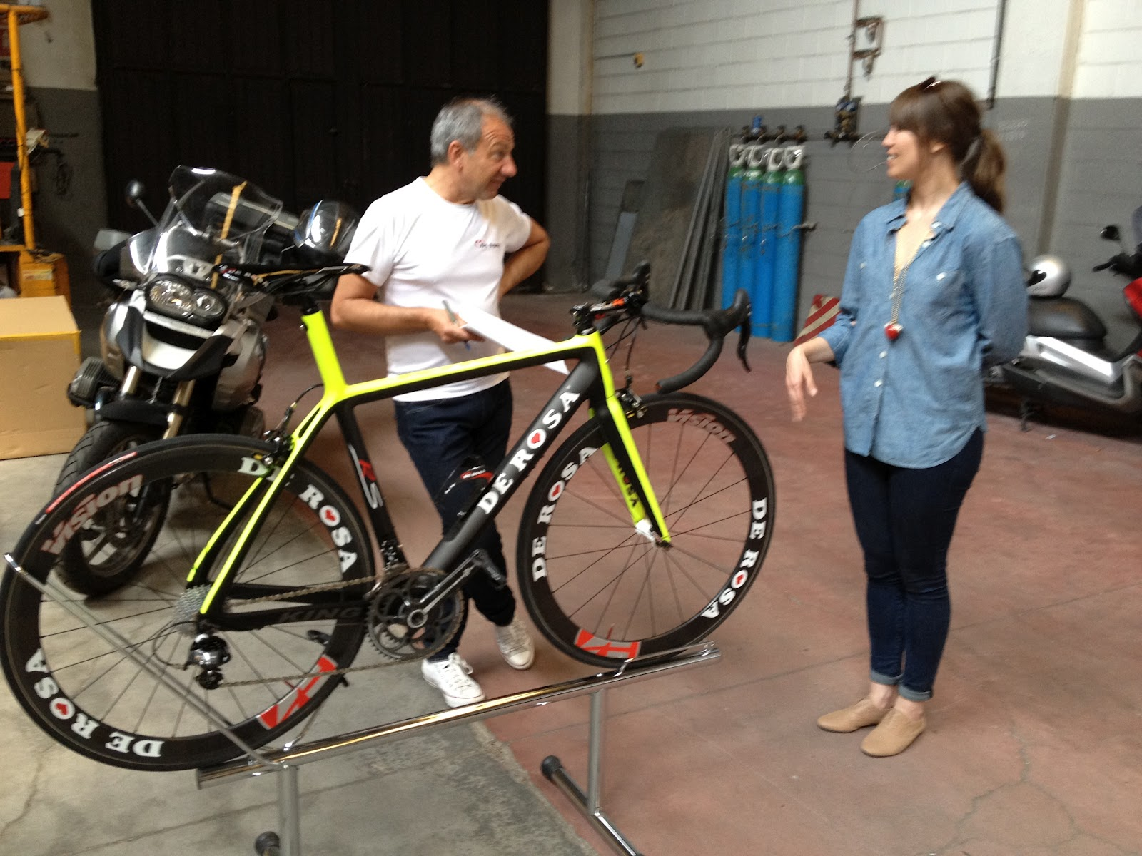 988c48afd3f It is special when you can go to Italy and be measured and advised for a  frameset. This story is courtesy of Marcello whose blog, BIKEADELIC, is  dedicated ...
