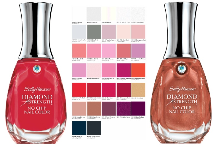Sally Hansen Diamond Strength No Chip Nail Colour New