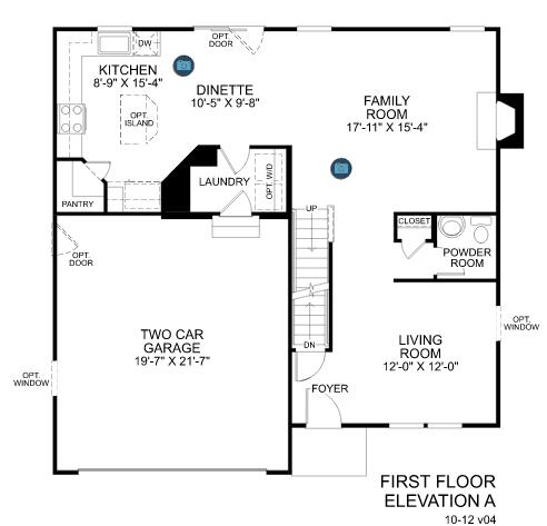 Our Ryan Homes Florence Elevation L