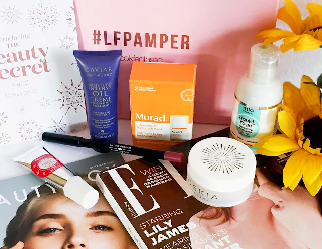 LookFantastic - Beauty Box (#LFPAMPER - Oktober 2016) Oskia, Alterna, Polaar, Laura Geller, Murad, Mio