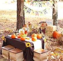 Amanda' Parties Little Pumpkin Party Set