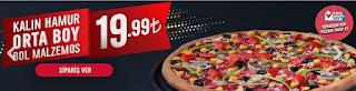 dominos pizza kampanyaları