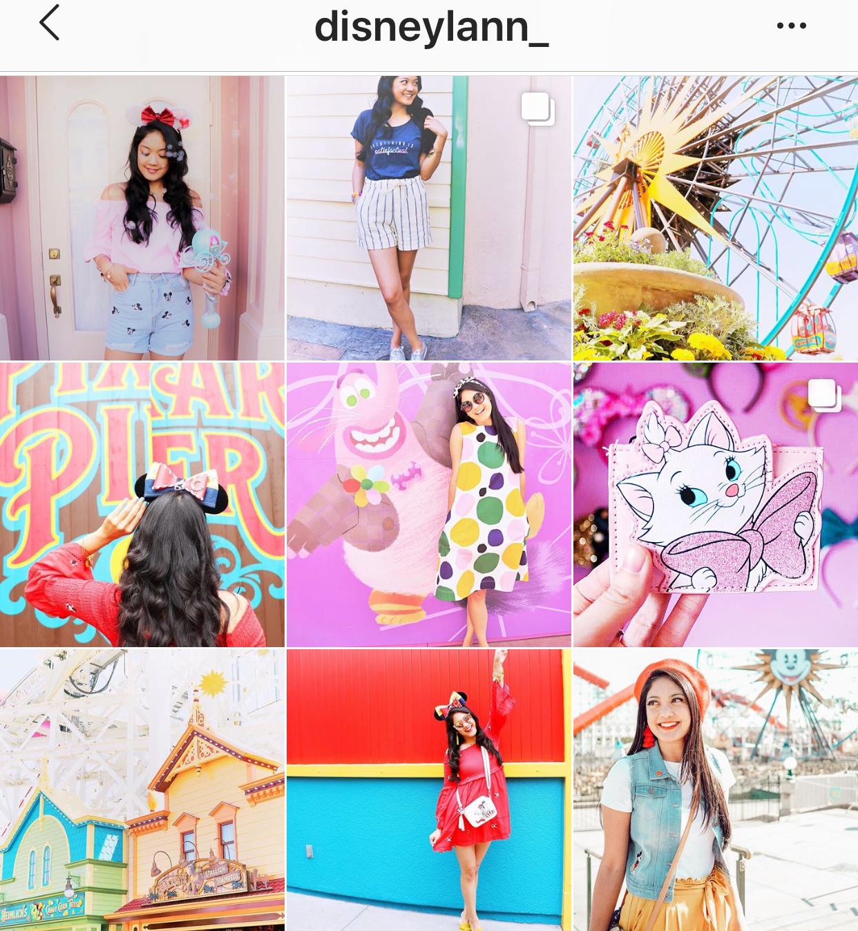 Disneylann instagram