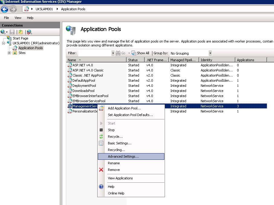Configuring Citrix NetScalers for load balancing and HA on