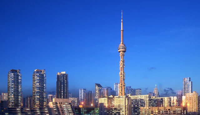 The CN Tower, Toronto, Canada - and insurance