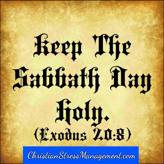The fourth 4 commandment Keep the Sabbath day holy Exodus 20:8