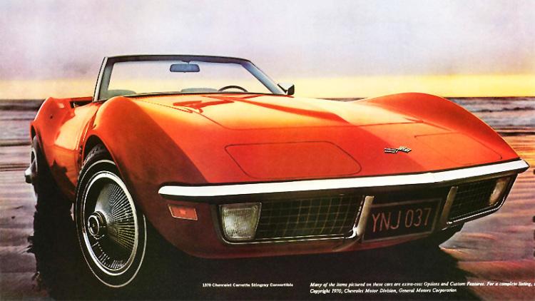 Tốt nhất 1970 Corvette LT1
