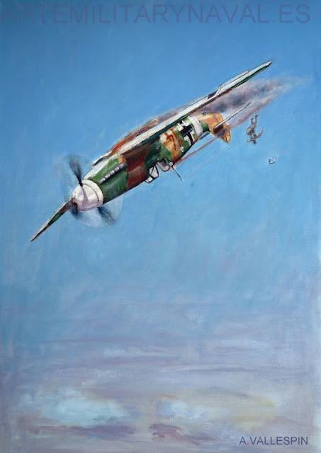 Ultimo vuelo de Hans-Joachim Marseille