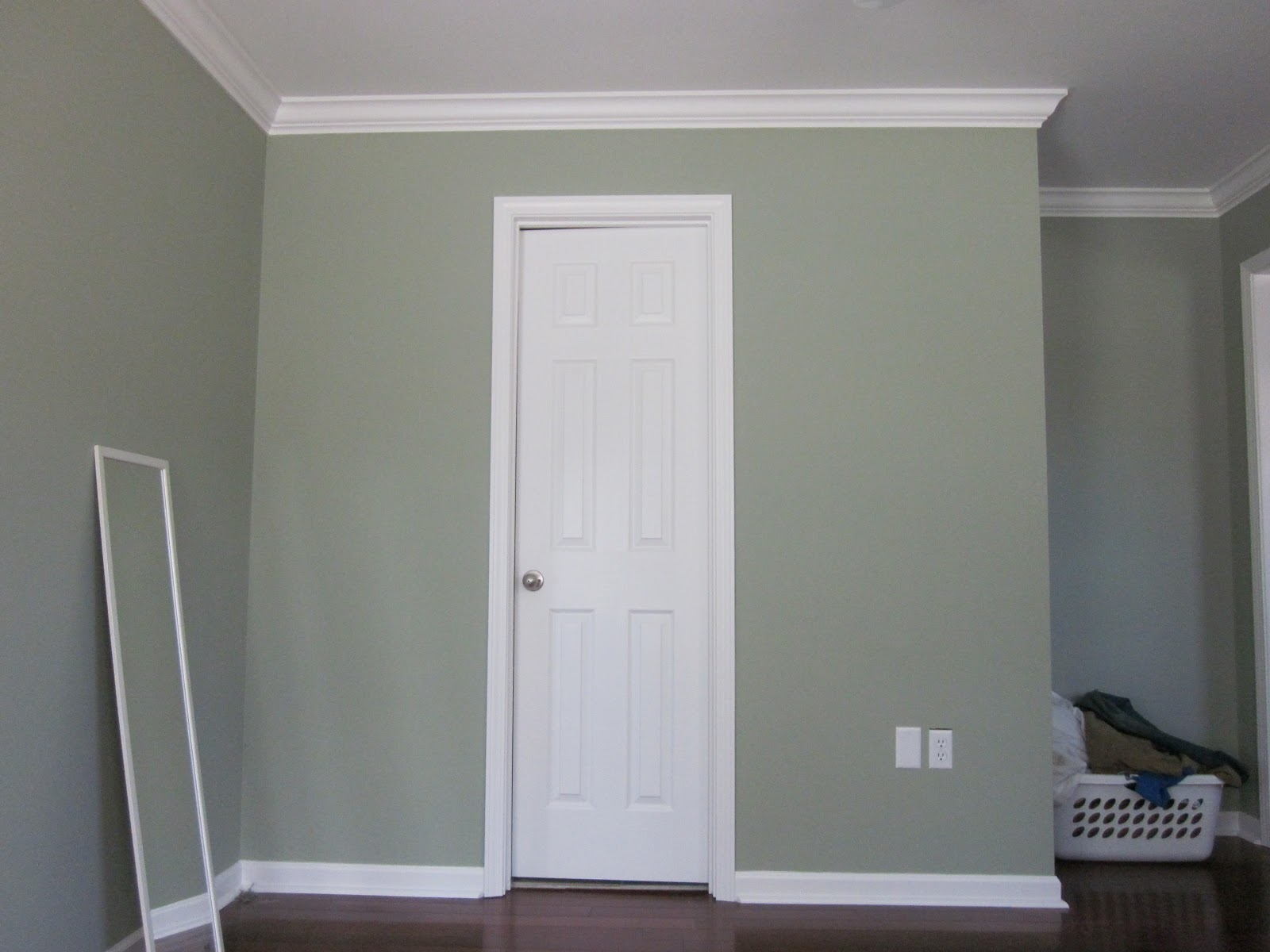 Painted Trim Bedroom
