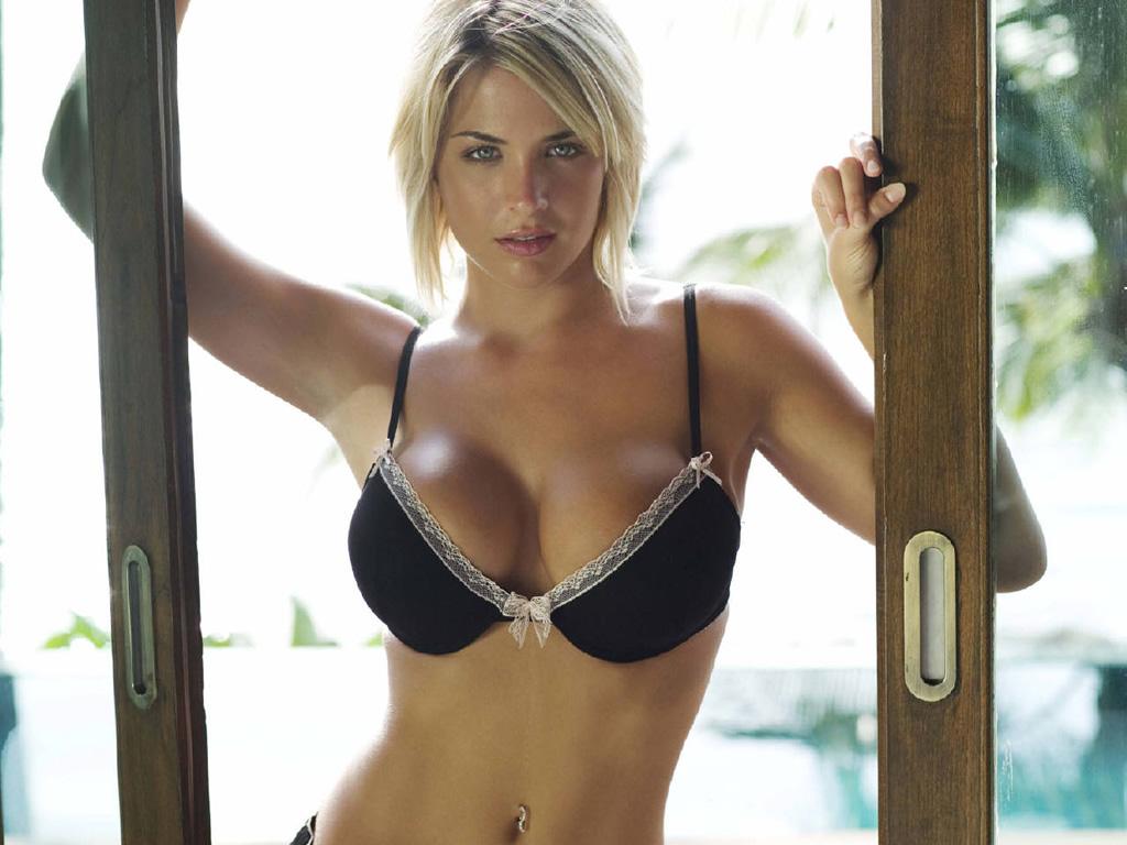 Hot girls nude on trampoline