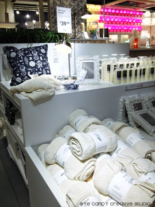sweater blankets, black and beige decor, IKEA shopping