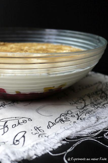 Experimente aus meiner Küche: Pfirsich-Melba-Dessert