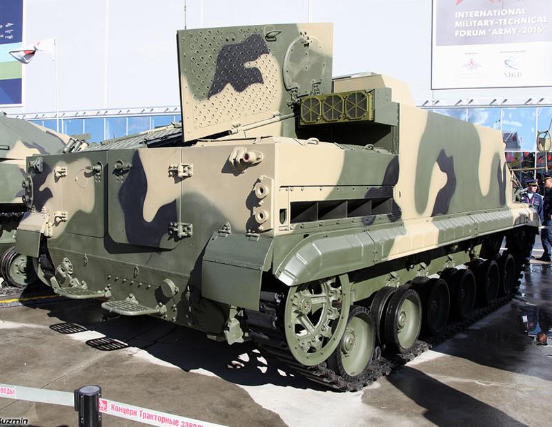 Tank Amphibi BT-3F Rusia