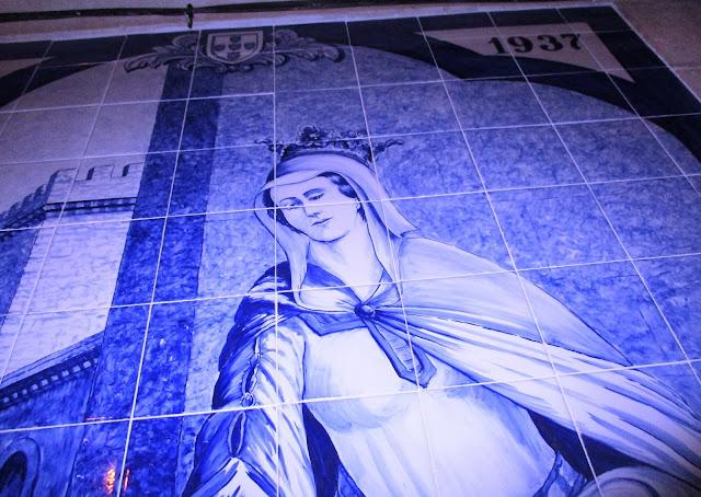 Resultado de imagem para ansião painel azulejar da rainha santa isabel