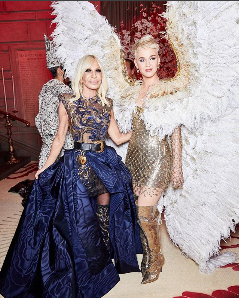Luxury Makeup Rihanna And Katy Perry Slay The Vogue Magazine For Best Dress And Makeup Look 2018