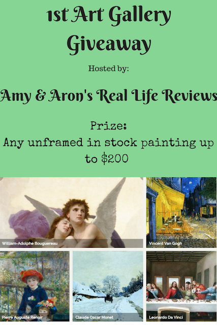 1st Art Gallery Giveaway ~ RV up to $200 ~ Ends 12/28