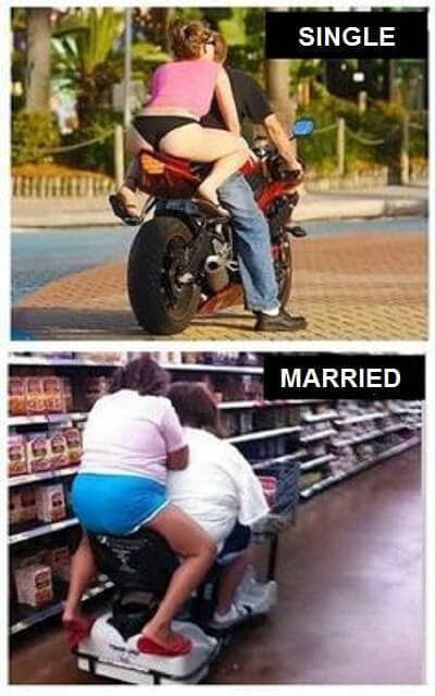 16 Funny Pictures Of The Startling Differences Between Single And Married Life - A babe or a baby