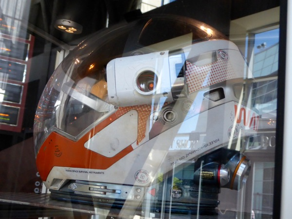 The Martian NASA space helmet