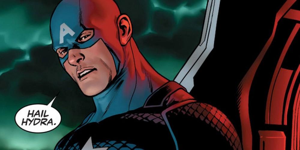 Captain America Steve Rogers Hail Hydra Launch Trailer