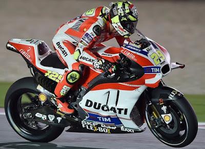 Rossi Mengaku Merinding dengan Kecepatan GP16 di Trek Lurus