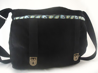 sac vintage en velours