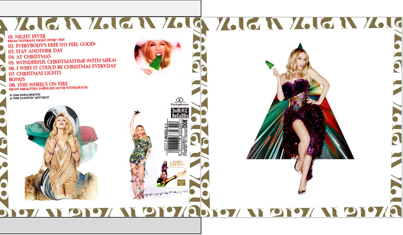 MUSICOLLECTION: KYLIE MINOGUE - Kylie Christmas - 2016