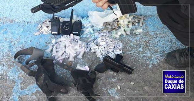 Polícia prende criminoso durante operação em comunidade de Duque de Caxias