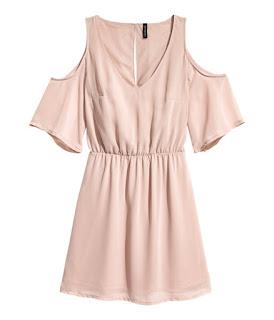 H&M Cold Shoulder Dress. Favourite off the shoulder fashion style