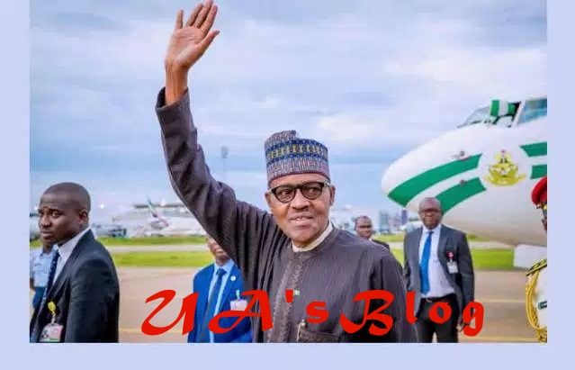 BREAKING: Buhari returns from 10-day working visit to London