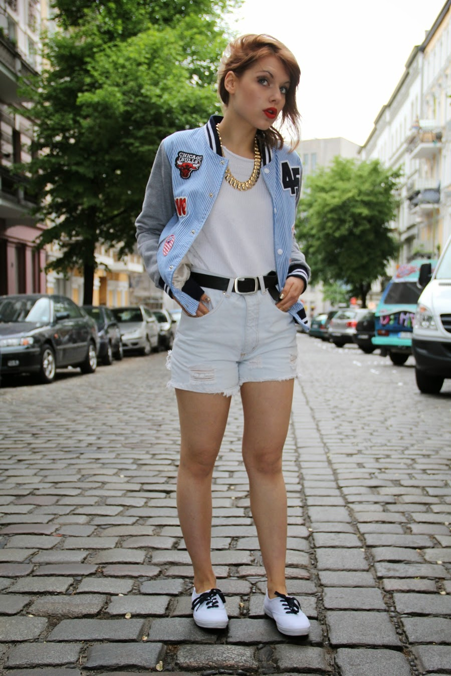 high waist shorts fashion blogger myberlinfashion