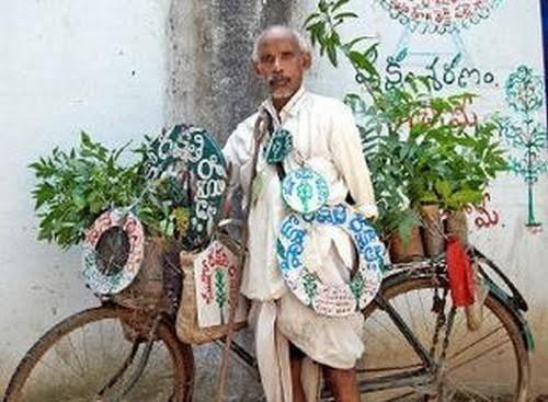 மனநிலை பாதிக்கப்பட்டவர் என கிண்டல்: 'பத்மஸ்ரீ 'வென்று பதிலடி தந்த முதியவர்!