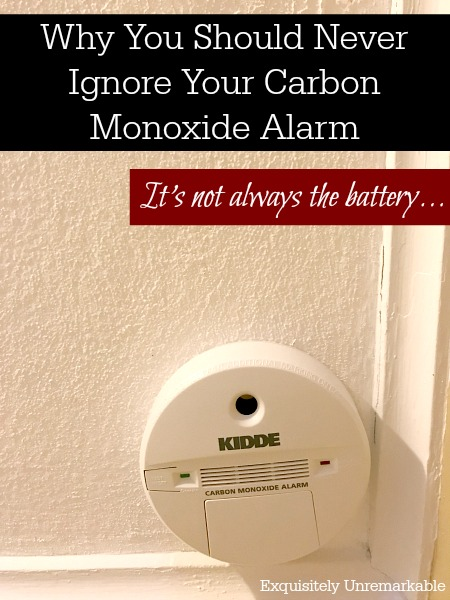 Why You Should Never Ignore Your Carbon Monoxide Detector