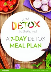 7 Day Detox Meal Plan ~ JOM Detox The Shaklee Way!