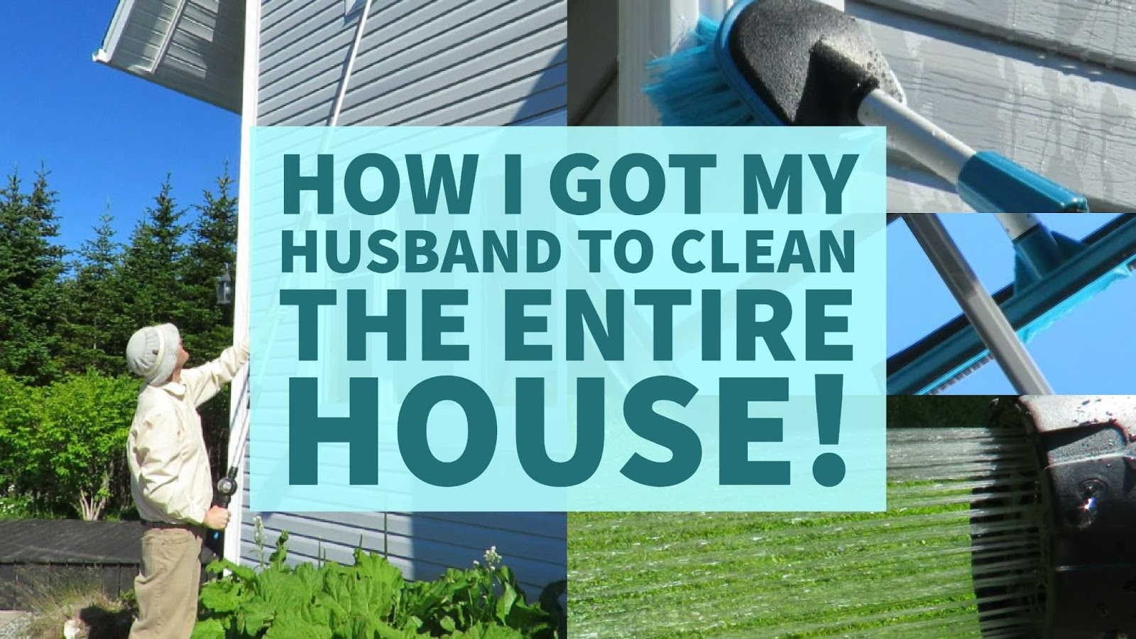 How I Got My Husband To Clean The Entire House