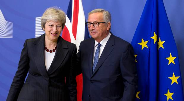 UK,,EU, agree draft Brexit