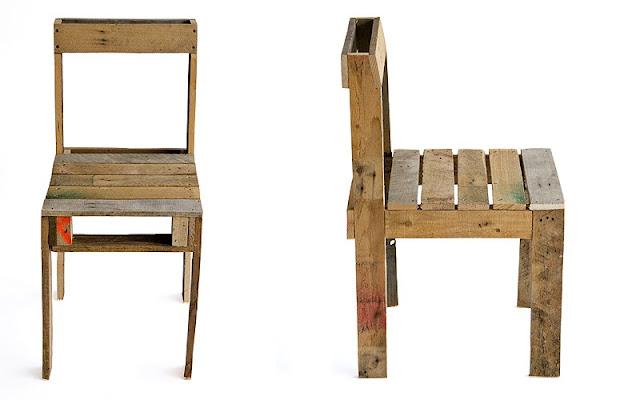 cadeira e mesa com palete decora o e inven o. Black Bedroom Furniture Sets. Home Design Ideas