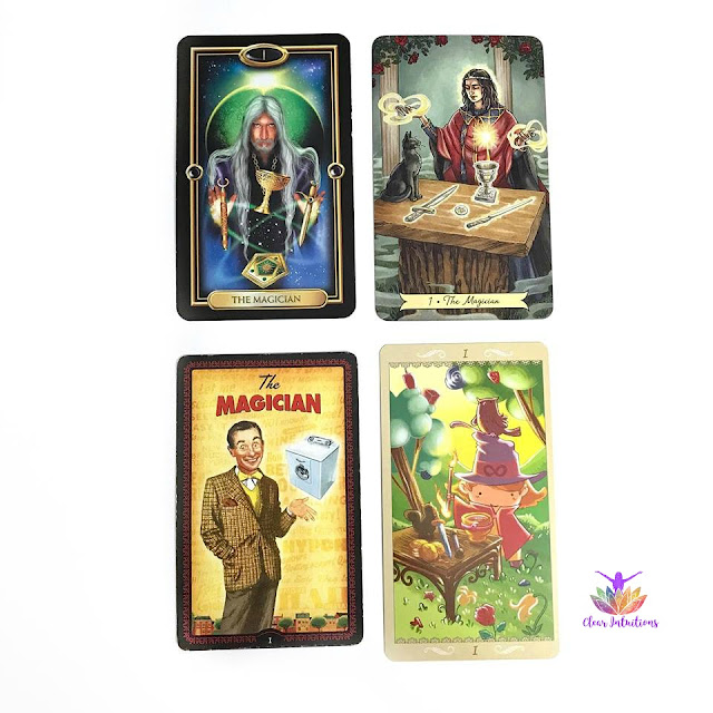 Tarot by Comparison - The Magician