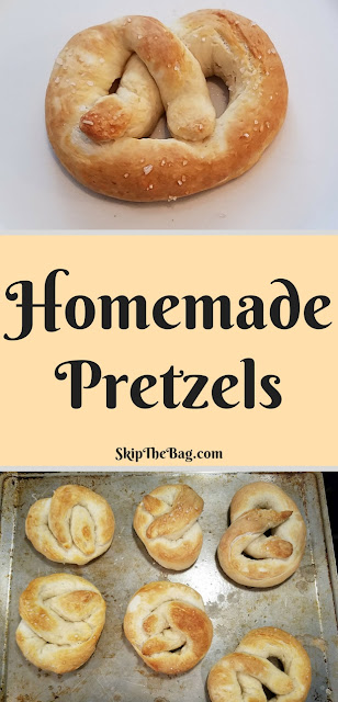 Delicious homemade soft pretzels. Easy!