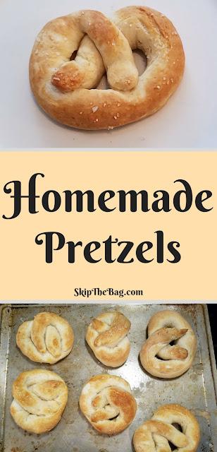 Delicious homemade soft pretzels. Easy!