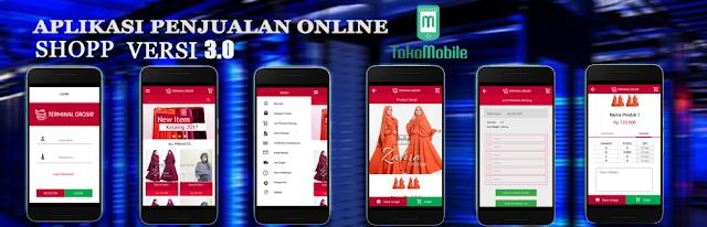 pembuatan aplikasi online shop terpercaya
