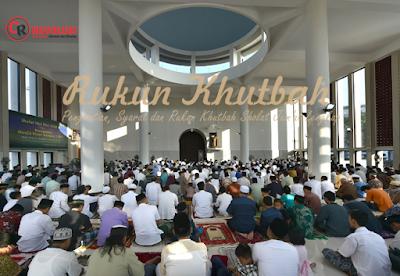 Pengertian, Syarat dan Rukun Khutbah Sholat Jum'at ...