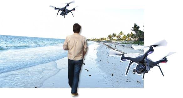 cara kerja drone