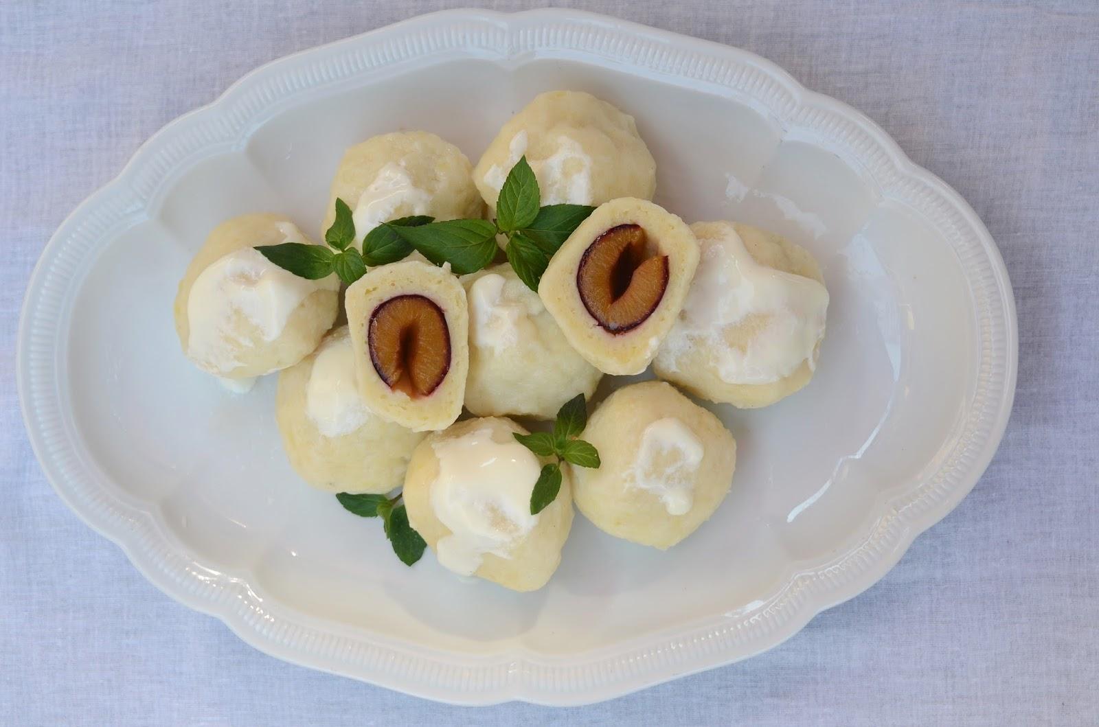 Apetyczna Babeczka Anielska Kuchnia Knedle Ze śliwkami