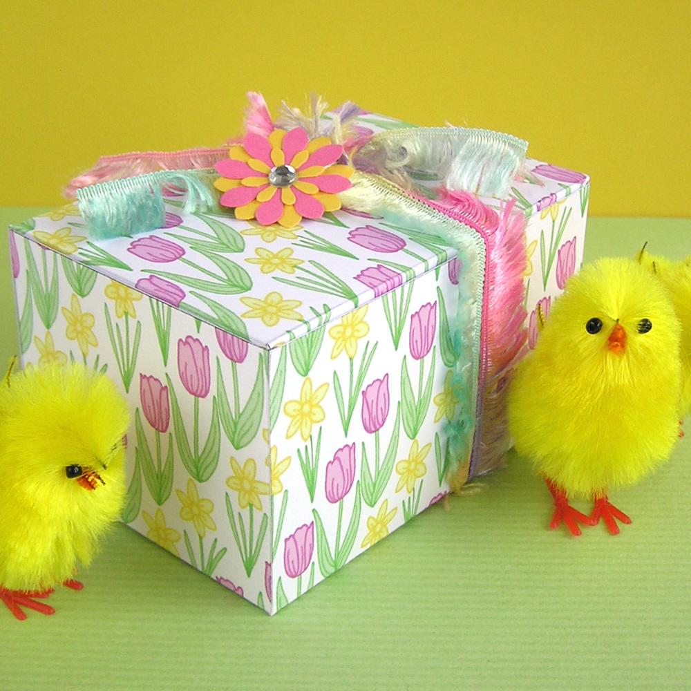 Hazel fisher creations printable easter gift boxes printable easter gift boxes negle Choice Image