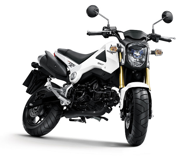 Honda MSX125 Motorcycle white