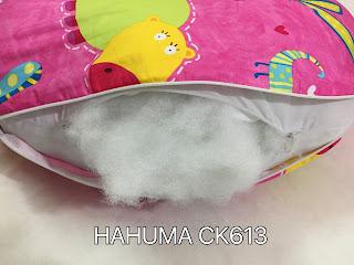Lõi bông gối chữ u cho bà bầu Hahuma là bông nhân tạo mềm mịn