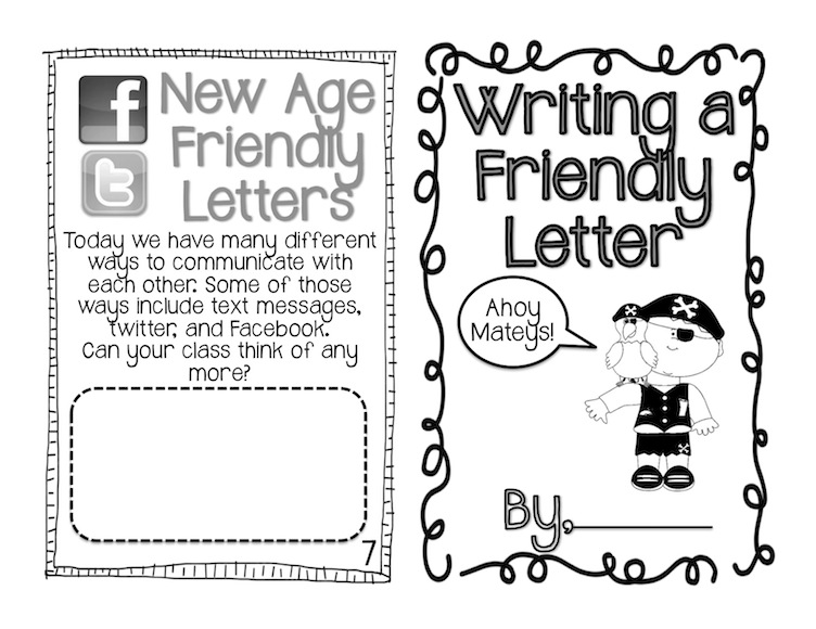 Second Grade with Mrs. Morgan!: Writing Friendly Letters!