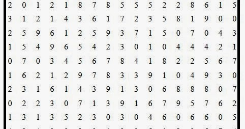 Free printable Word Search and Sudokus: Number Search