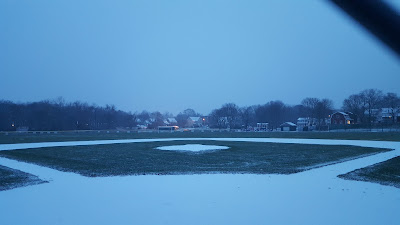 Fletcher Field in snow