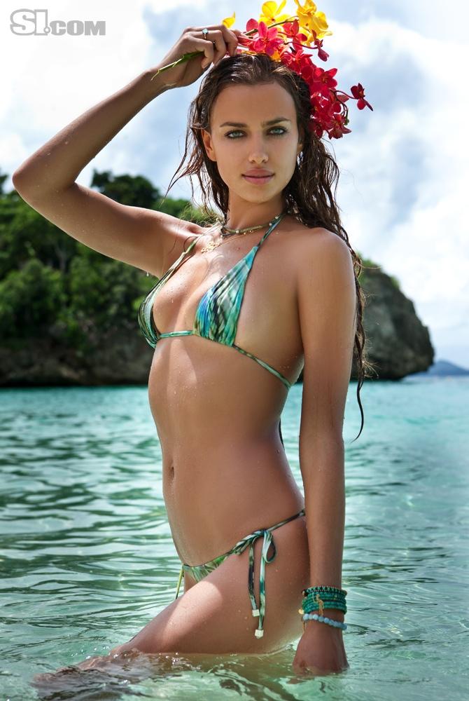 Russian Model Irina Sheyk Got The Sports Illustrated